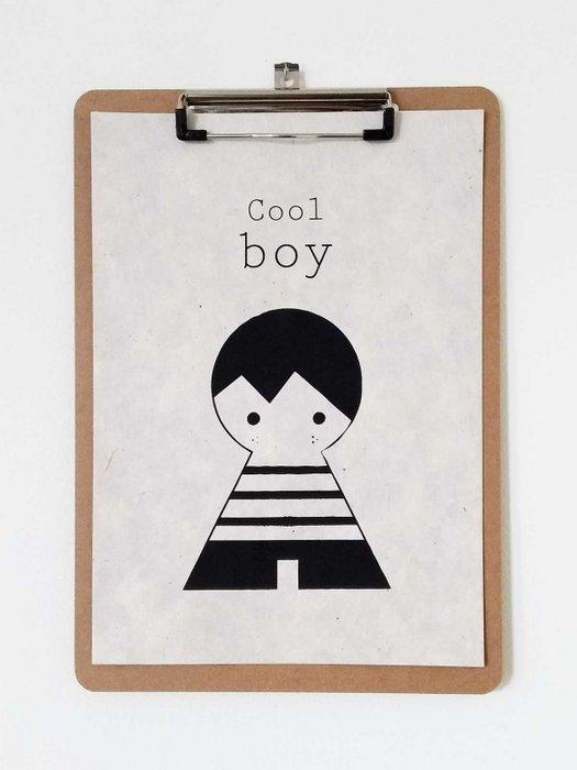 A4 Cool Boy