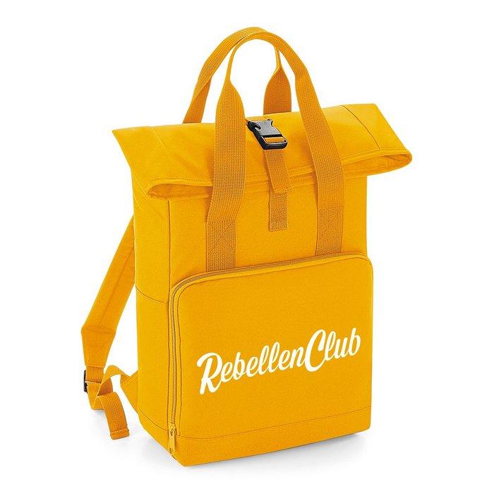 Rebellenclub City Rugzak – Mustard