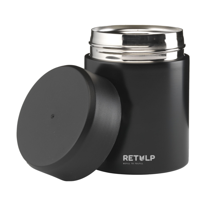 Food Container Thermos Black