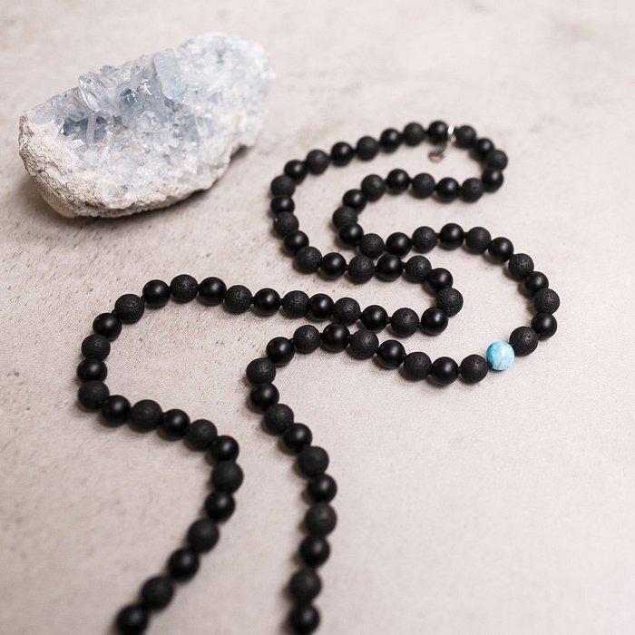 Little Infinity Gemstone Mala Unisex