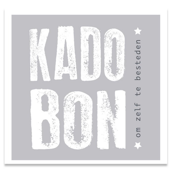 Kadobon Present Daily Grey