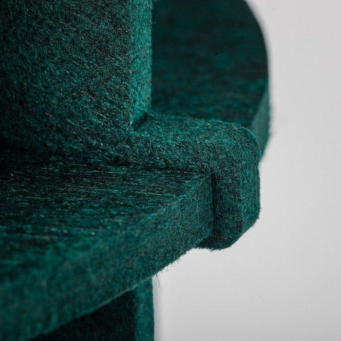No.19XL hanglamp PET Felt Dark Green 60cm by Olaf Weller