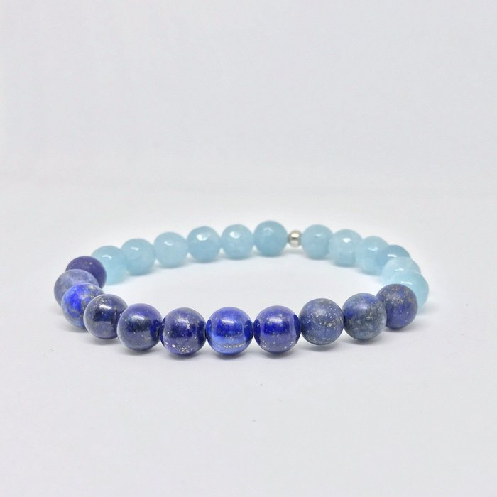 Blue Sea Gemstone Bracelet
