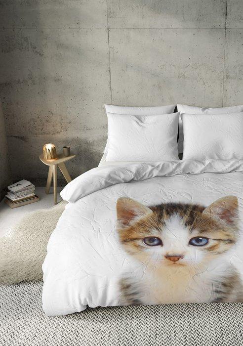 Dekbedovertrek Baby Cat