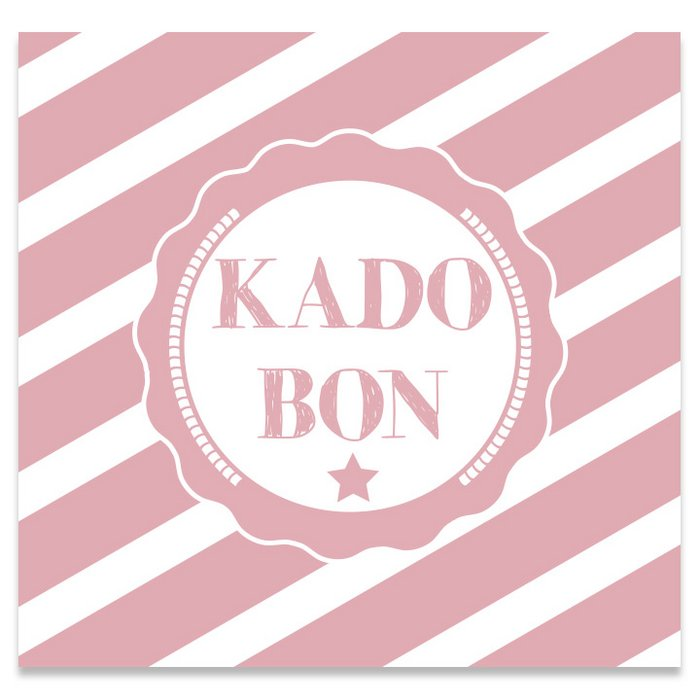 Kadobon Present Daily Strongly Pink