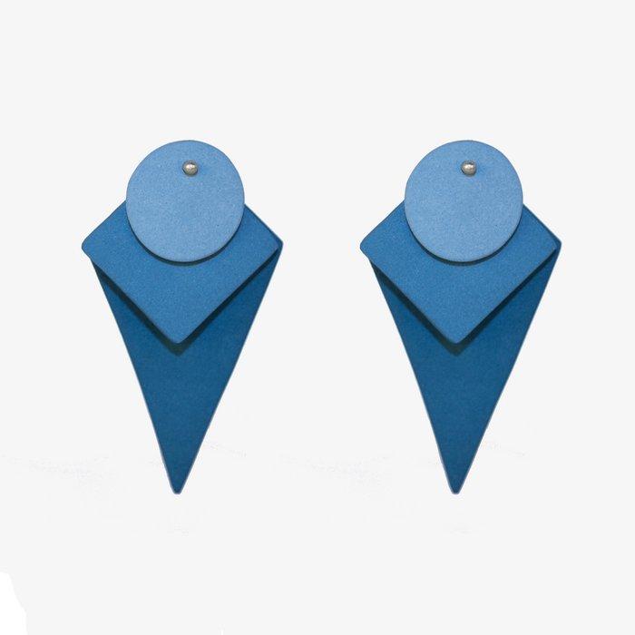 Porcelain earrings Big Mix shapes