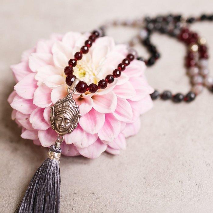 Power of Goddess Kali Gemstone Mala