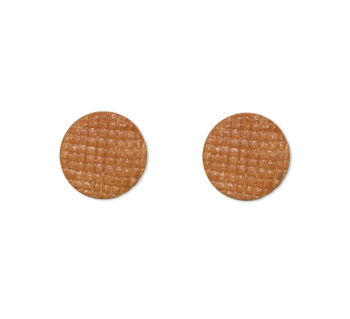 stroopwafel earrings