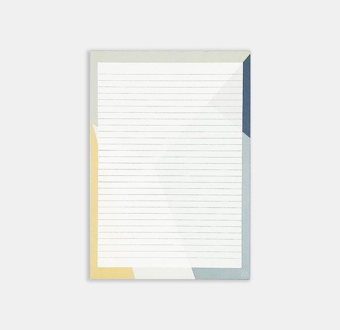 SUNNY SHAPES notepad