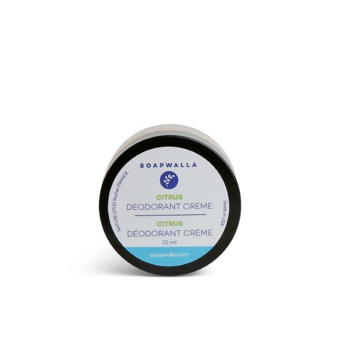 TRAVEL Citrus Deodorant Cream