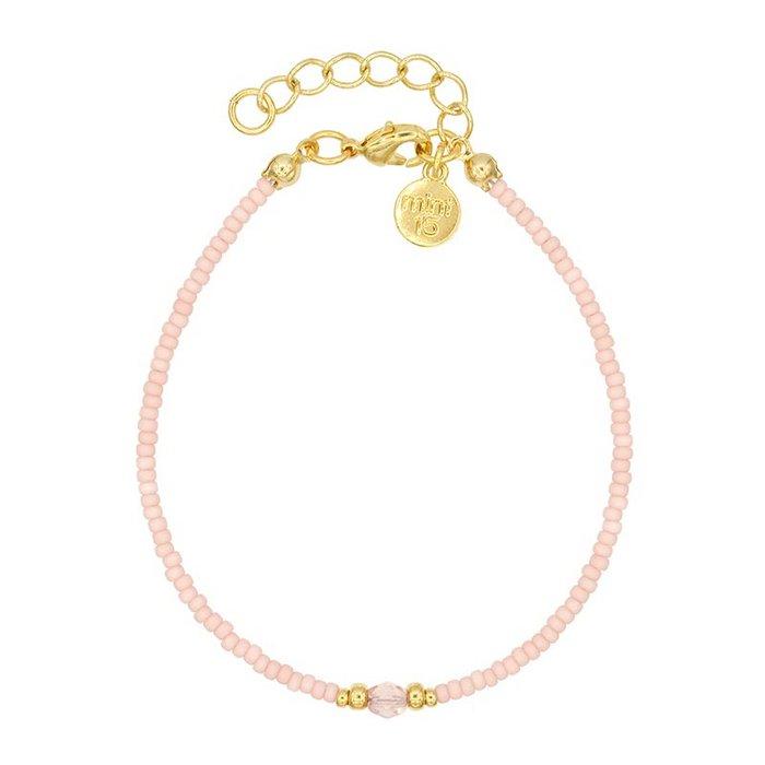 Diamond Bracelet - Soft Pink