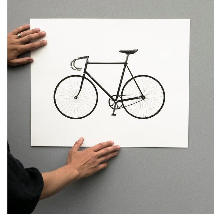Ride – 50x40 – screen print