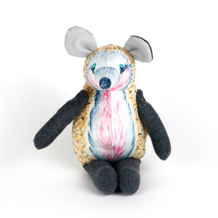Hedgehog doll — Courage