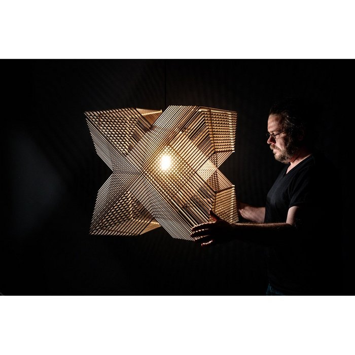No.41 Hanglamp Angles XL by Alex Groot Jebbink