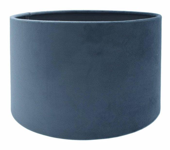 Lampenkap Cilinder VELOURS Navy Blue