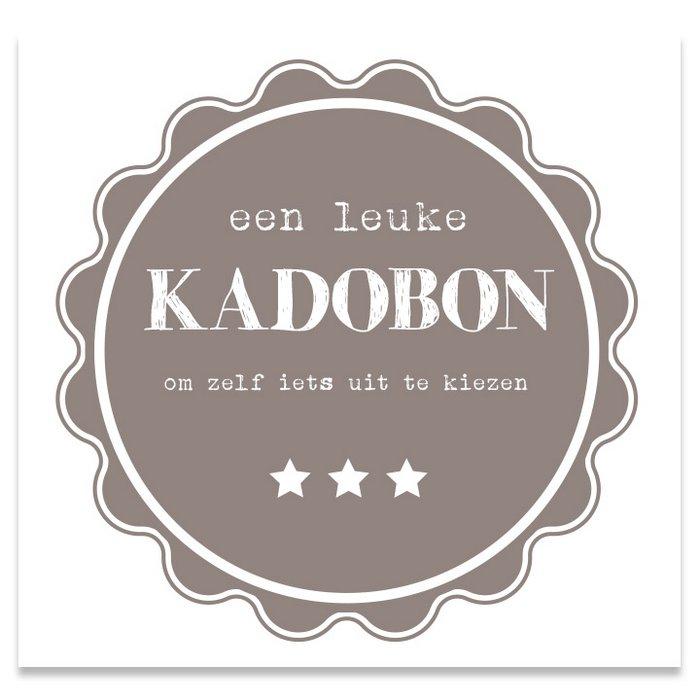 Kadobon Present Daily Taupe Pie