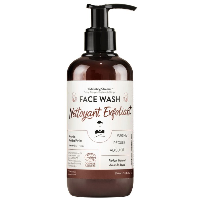 Exfoliating facial cleanser FACE WASH 250 ml