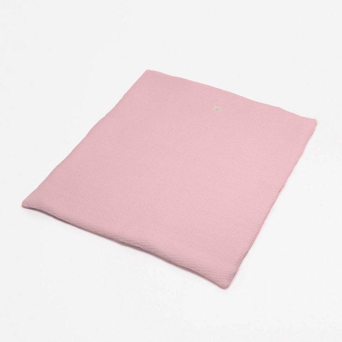 Boxkleed light pink - Soft Dots
