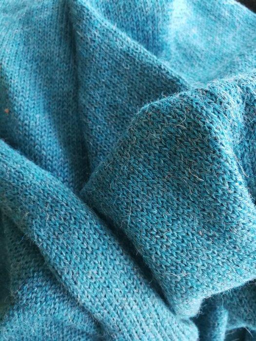 Alpaca Scarf XL Ocean Blue