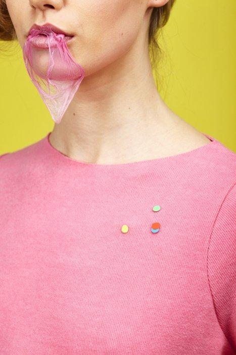 Lost confetti pins