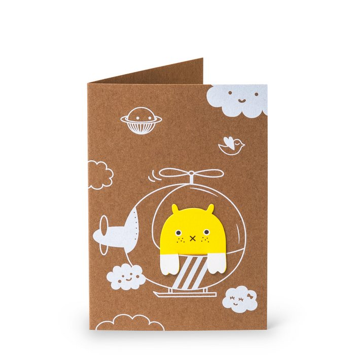 Happy Flying Bookmark Card