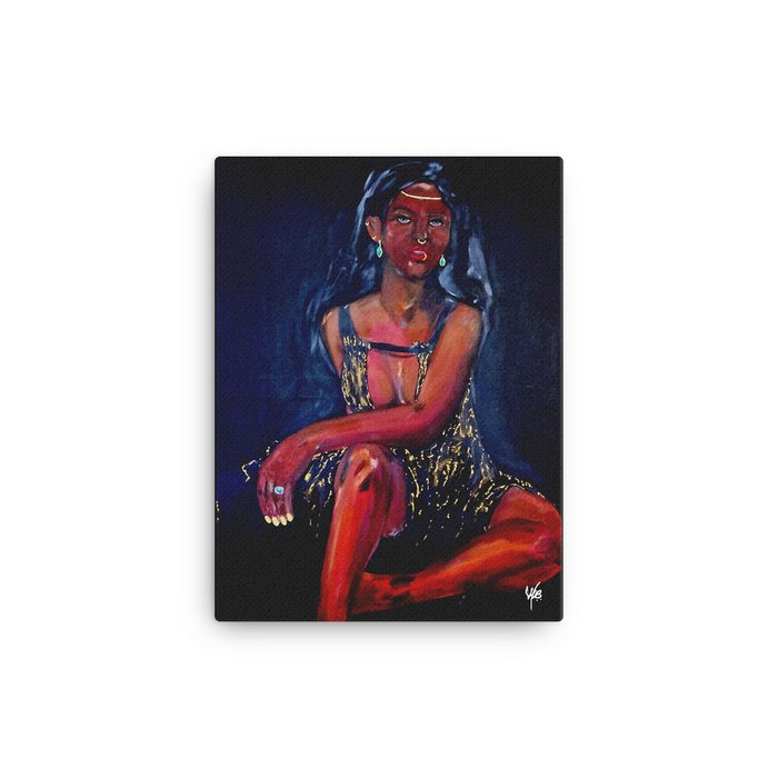 """Regal Fortune"" Canvas"