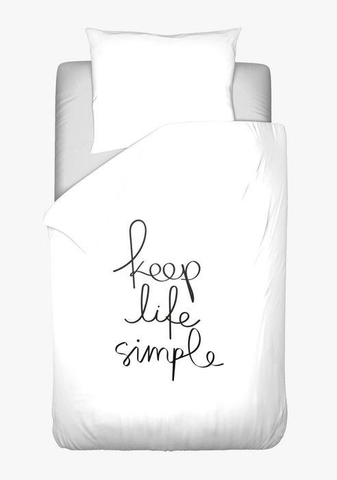 Dekbedovertrek Simple Life
