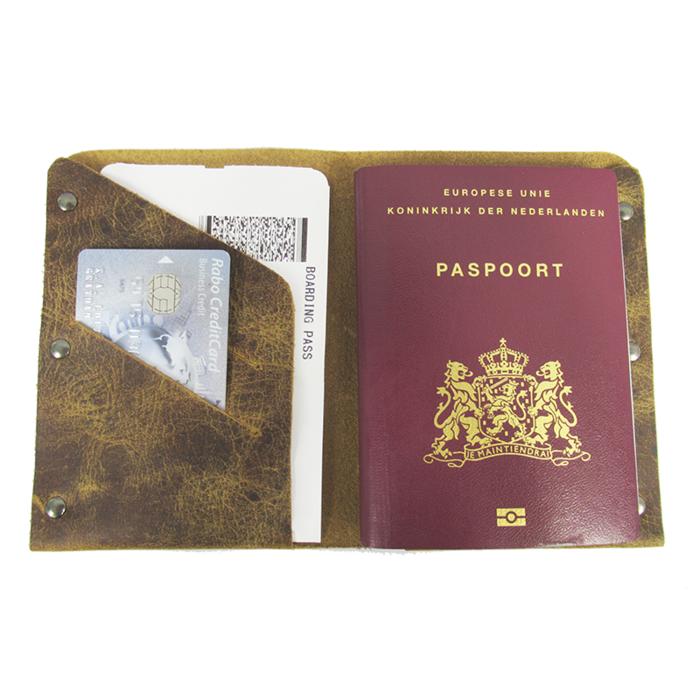 Luther leren paspoorthouder