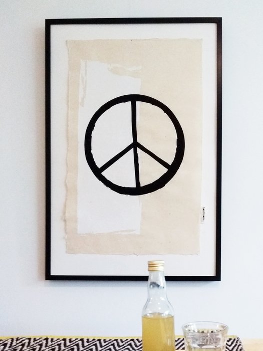 Peace Wall Art 50 x 70 cm