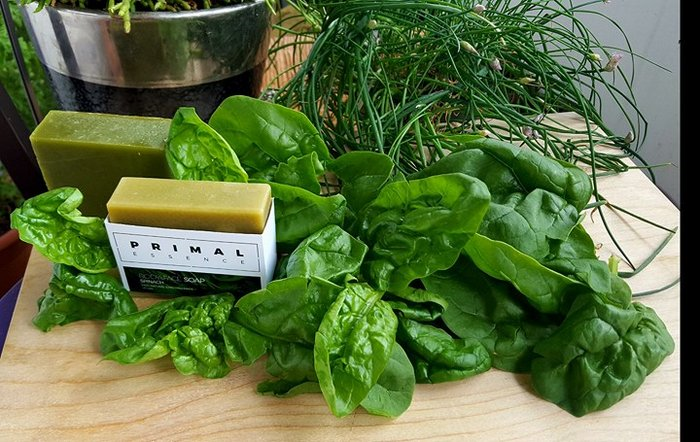 Spinach and Tea Tree Face & Body Soap - 100g
