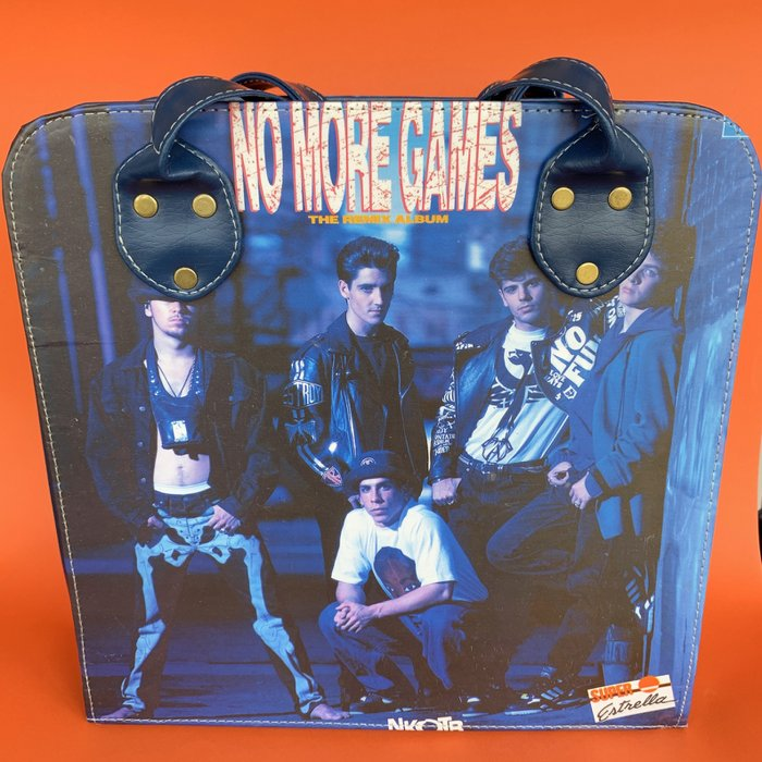 Wana Bana Vintage Big Bag Black - Vegan - New Kids On The Block