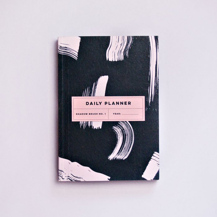 SHADOW BRUSH NO.1 DAILY PLANNER BOOK