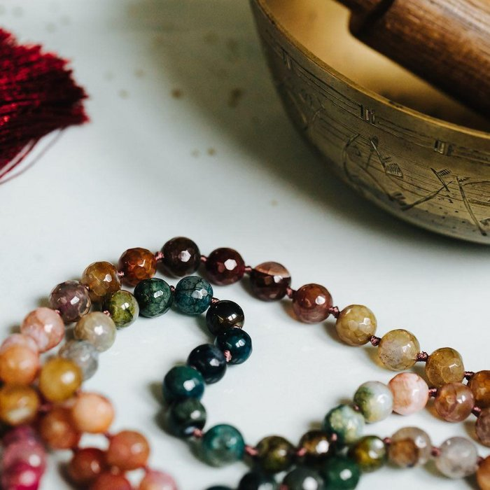 Healing Colours Gemstone Mala