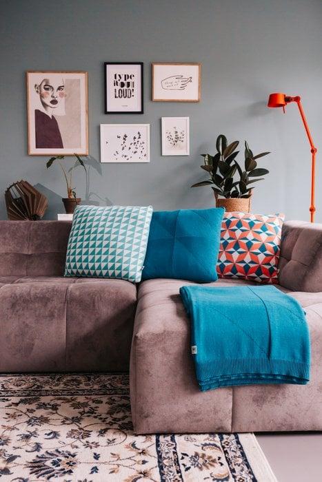 Cushion Azulejo Coimbra Light Blue