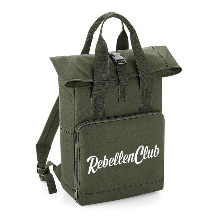 Rebellenclub City Rugzak – Olive Green