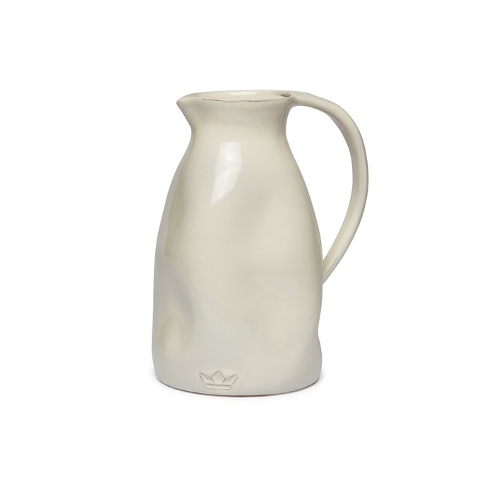 Dented Jug - Ceramic Carafe