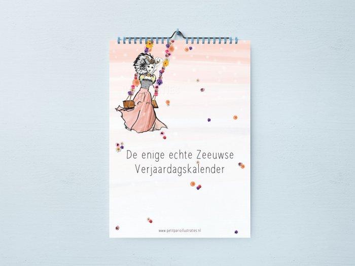 Verjaardagskalender Zeeuws meisje