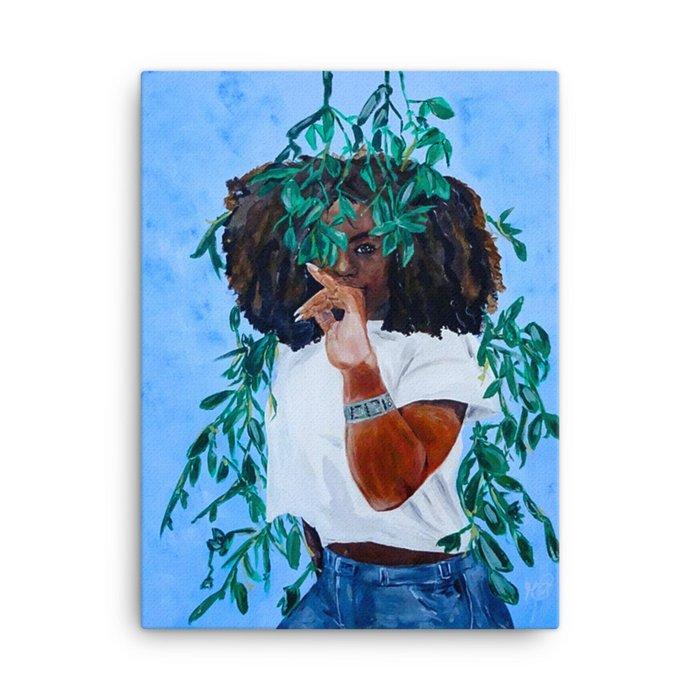 """""""Ava's Curiosity"""" Canvas"""