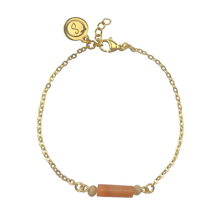 Bracelet Agate & Jade