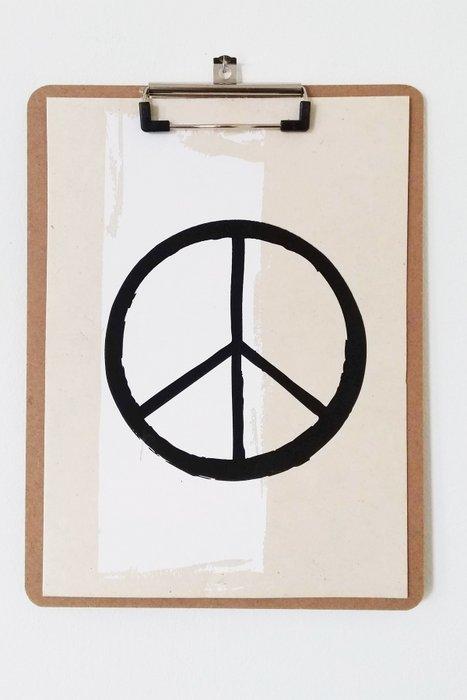 Peace Wall Art 50 x 70 cm