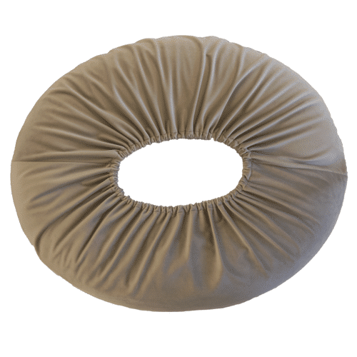 Hoes Loungekussen | Taupe