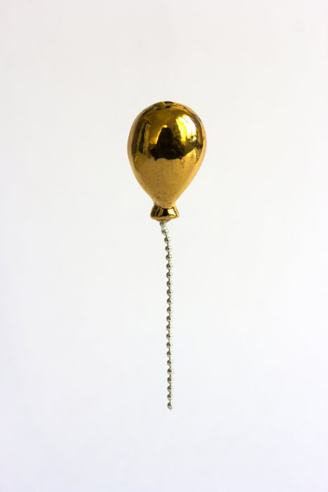 Lost Balloons GOLD pin