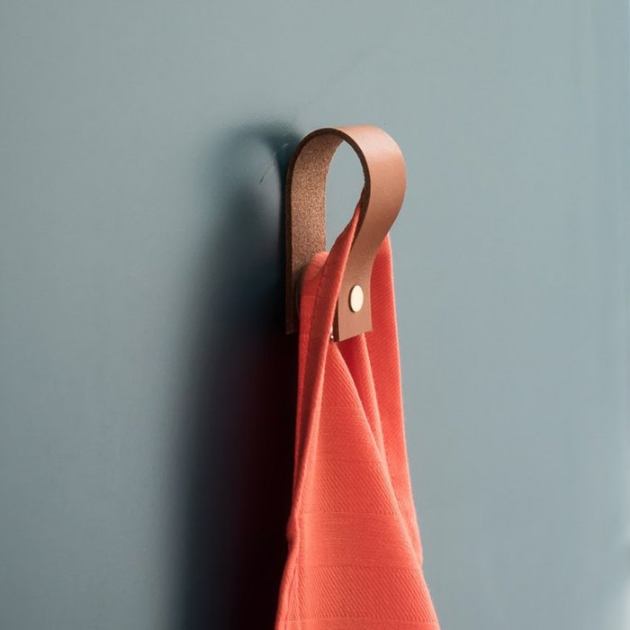 Leather magnetic loop | Leren magneet-lus