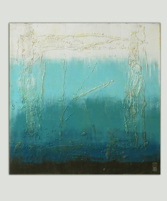 Schilderij - Oceanic Square