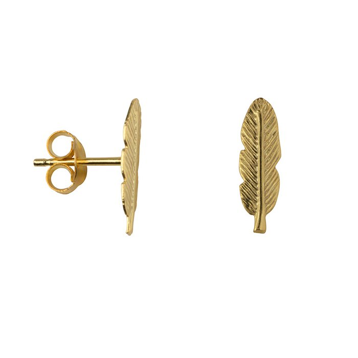 Feather studs (Gold & Silver)