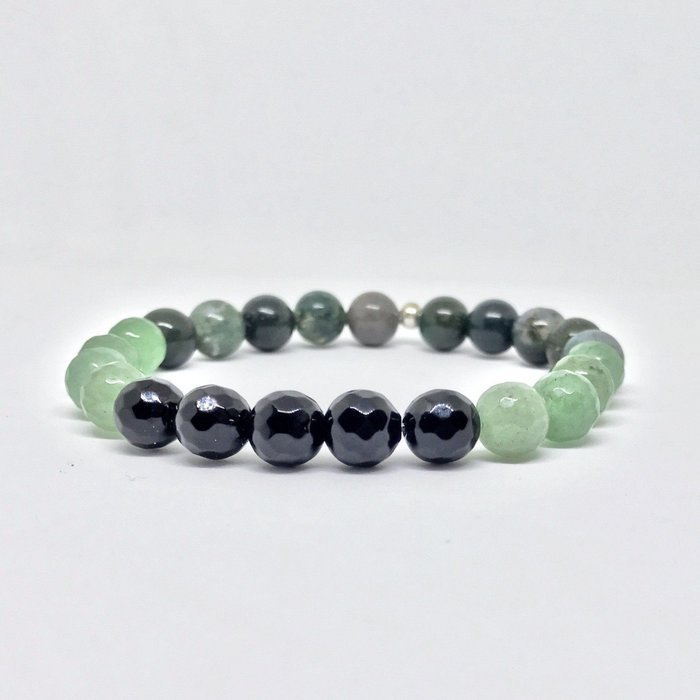 Deep Forrest Gemstone Bracelet