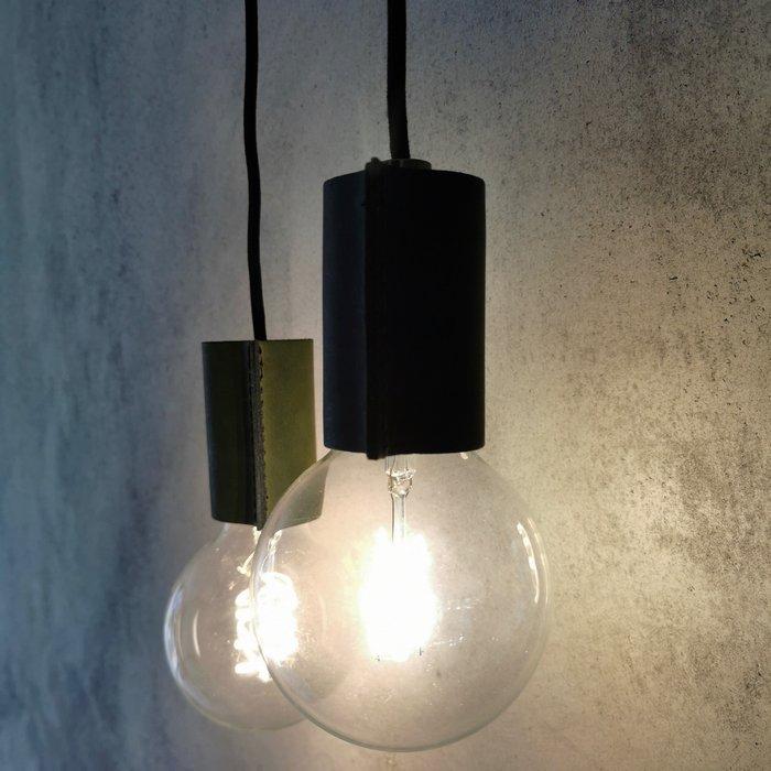 Leather pendant light | Leren pendellamp