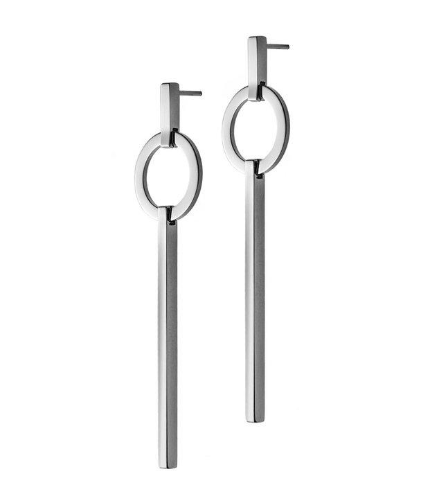 Kali earrings steel