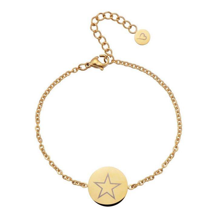 Shining Star Anklet Gold