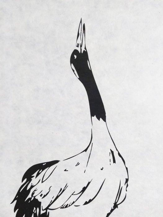 Bird Wall Art 50 x 70 cm